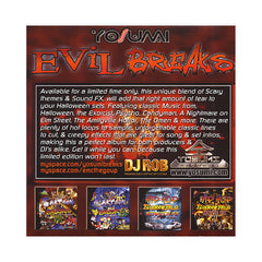DJ Rob - 'Evil Breaks' [(Black) Vinyl LP]