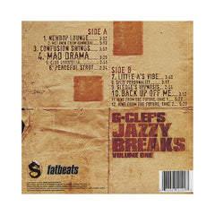 <!--020100928023792-->G-Clef Da Mad Komposa - 'G-Clef's Jazzy Breaks Vol. 1' [(Black) Vinyl LP]