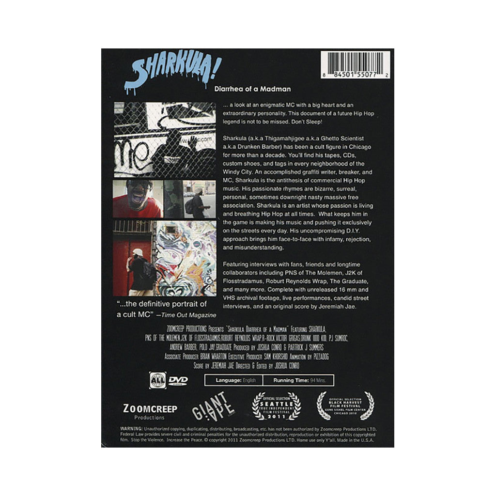 <!--020110705033232-->Sharkula - 'Sharkula! Diarrhea Of A Madman' [DVD]