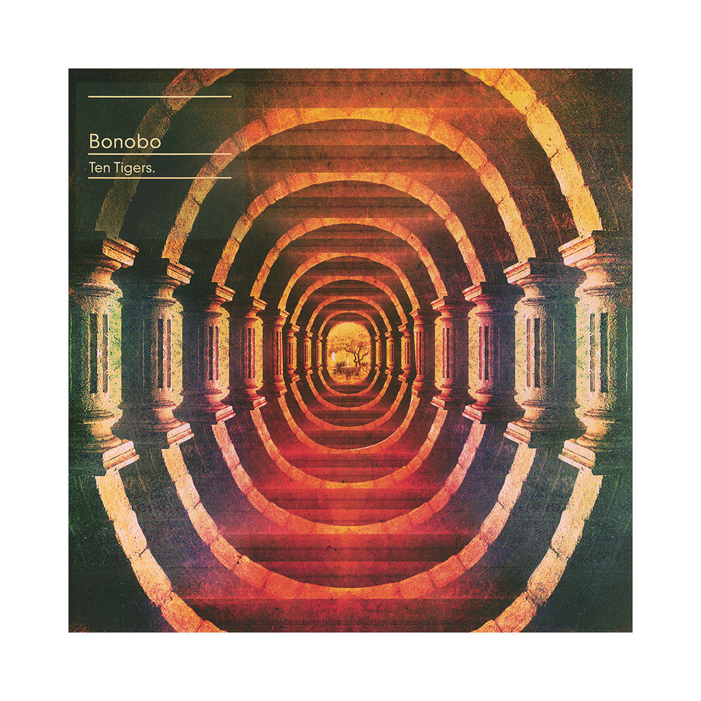 "<!--020140624064246-->Bonobo - 'Ten Tigers EP' [(Black) 12"" Vinyl Single]"
