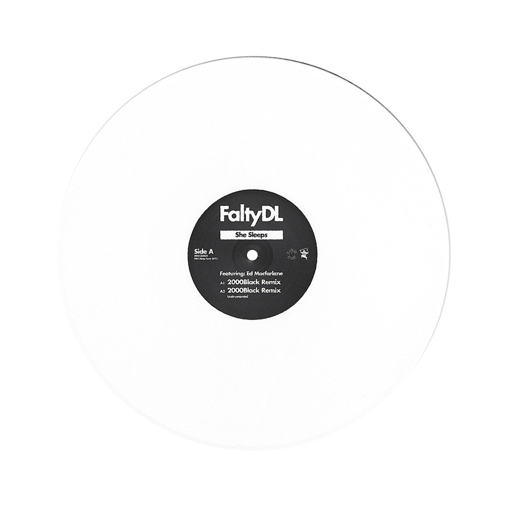 "<!--120130305053613-->FaltyDL - 'She Sleeps/ She Sleeps (Remixes)' [(Black) 12"""" Vinyl Single]"