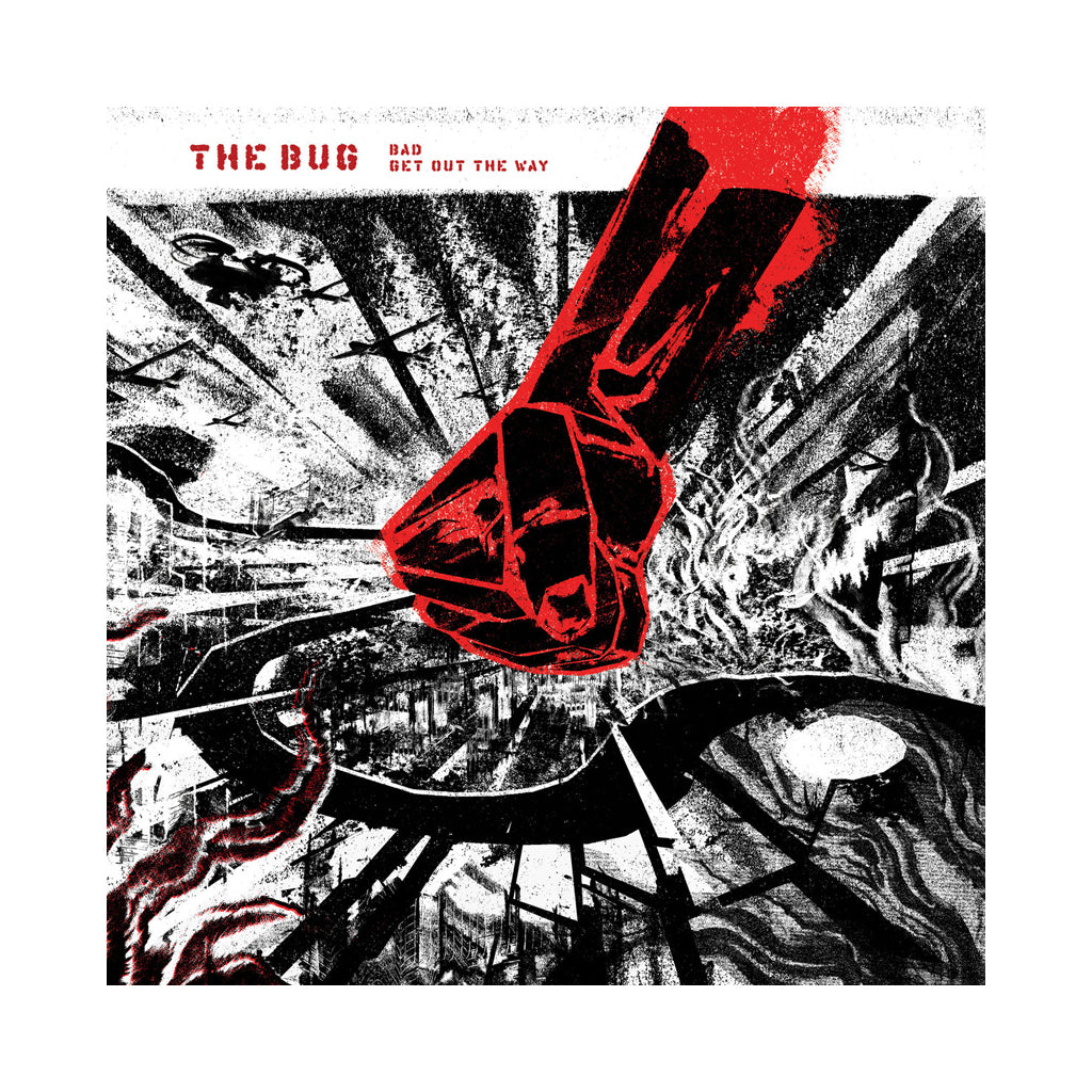 "The Bug - 'Bad/ Get Out The Way' [(Black) 12"" Vinyl Single]"