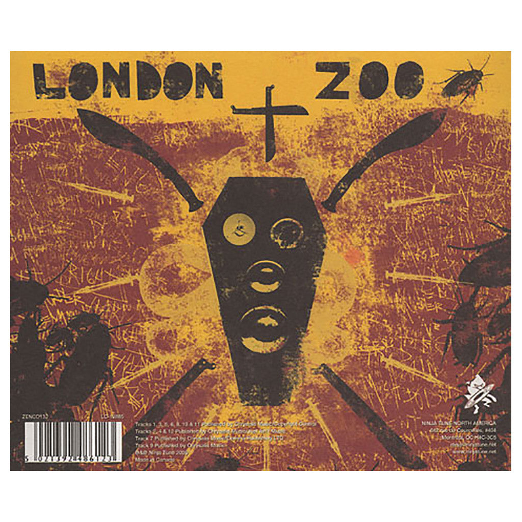 <!--120080729014259-->The Bug - 'London Zoo' [CD]