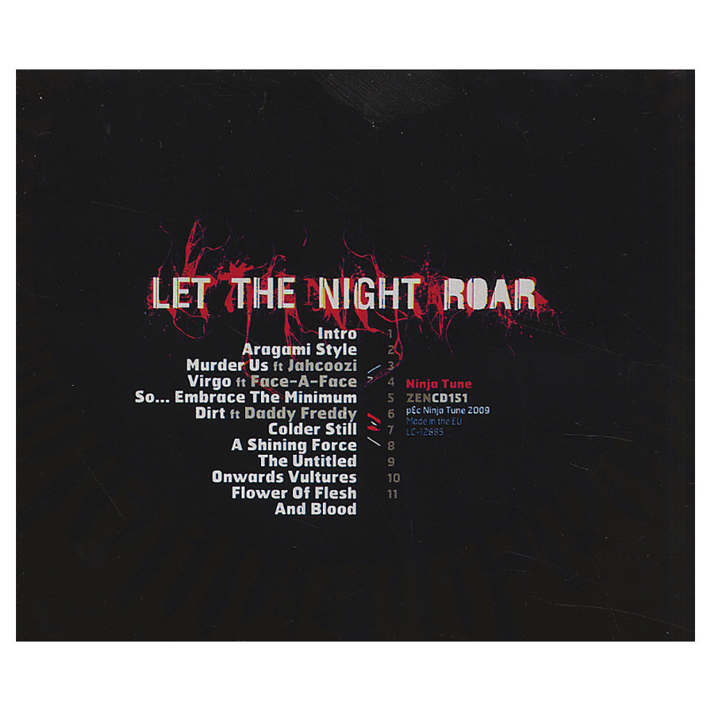 King Cannibal - 'Let The Night Roar' [CD]
