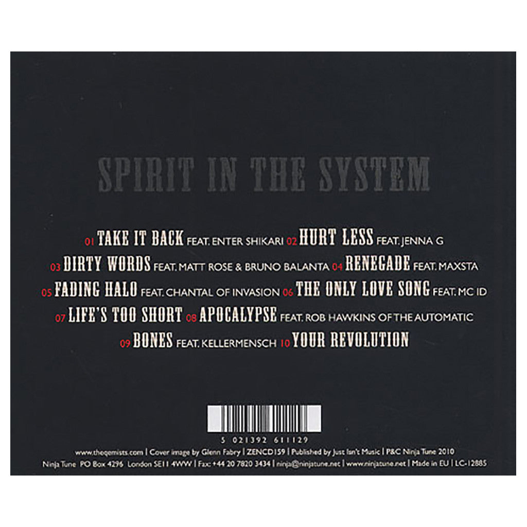The Qemists - 'Spirit In The System' [CD]