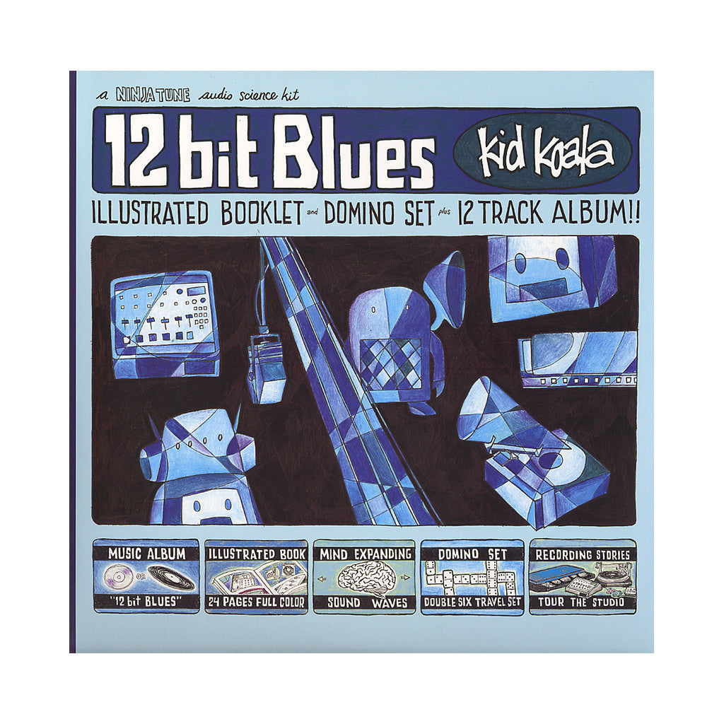 <!--120120918047672-->Kid Koala - '12 Bit Blues' [(Black) Vinyl [2LP]]