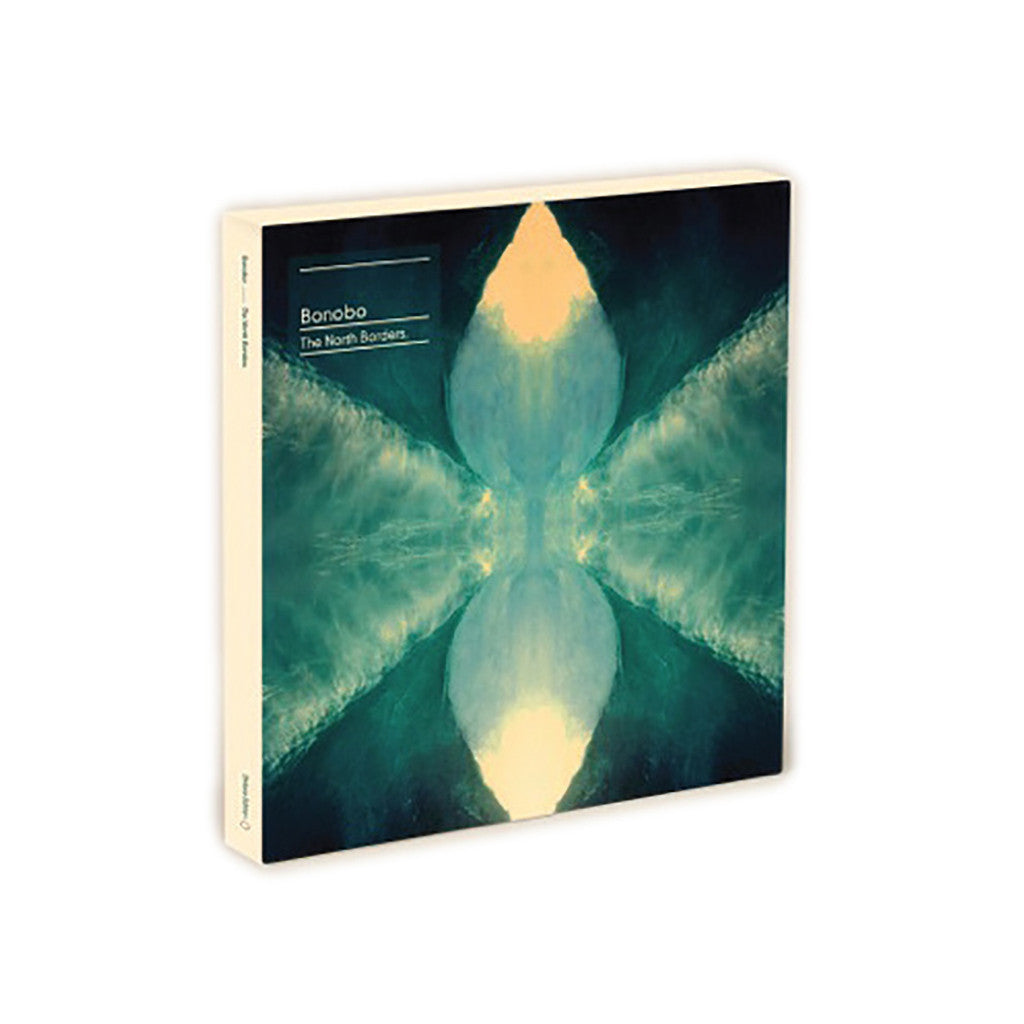 "<!--020130420054709-->Bonobo - 'The North Borders' [(Black) 10"" Vinyl Single [7x10""]]"