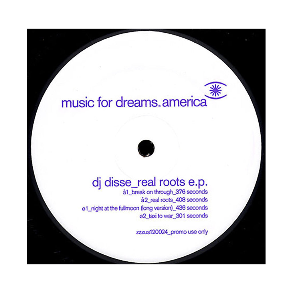 <!--2008052702-->DJ Disse - 'Real Roots EP' [(Black) Vinyl EP]