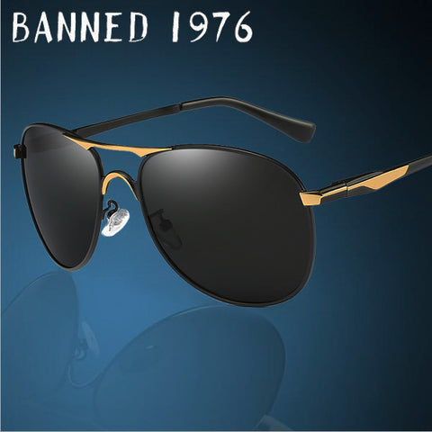 2017 top High Quality cool Polarized men Sunglasses brand Designer UV400 protection Vintage driving sun glasses oculos