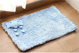 3D Cute Animal Design Non Slip Bath Mat Polyester Fiber Bathroom Mat Super Absorbent And Toilet Rug Bedroom Door Carpet