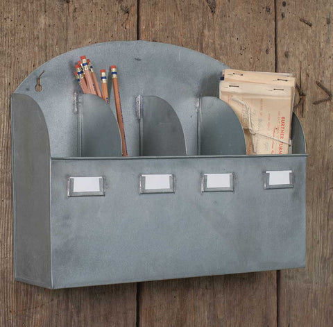 Arbor Wall Organizer With Four Compartments & Labels - *FREE SHIPPING*