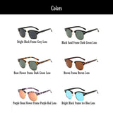 BULUN High Quality Polarized Sunglasses Men Brand Designer Vintage Round Sun Glasses Driving Glasses For Men Oculos De Sol UV400