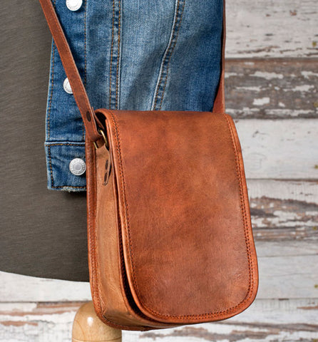 Genuine Leather  Bartlett Crossbody Bag - *FREE SHIPPING*