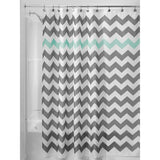 Bathroom Waterproof Shower Curtain Colorful Of Chevron Custom Shower Curtain
