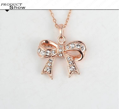 Bow Necklace - *FREE SHIPPING*