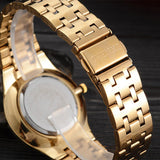 CHENXI Wristwatches Gold Watch Men Watches Top Brand Luxury Famous Male Clock Golden Steel Wrist Quartz Watch Relogio Masculino