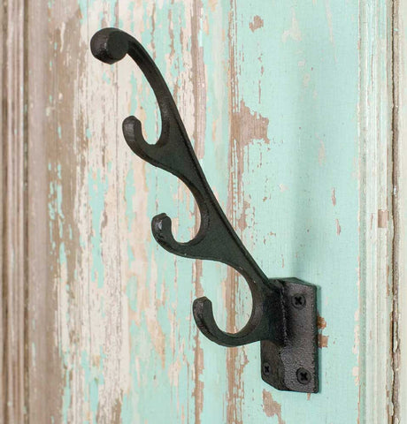 Cast Iron Multi Hook - SET OF 4 - *FREE SHIPPING*