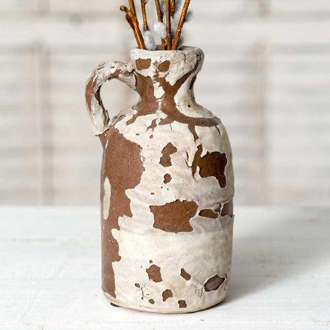 Ceramic Vase with Handle - SET OF 2 - *FREE SHIPPING*