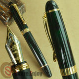 Dark Green and Gold Classic Fountain Pen - *FREE SHIPPING*