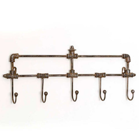 Five Hook Industrial Rack - SET OF 2 - *FREE SHIPPING*