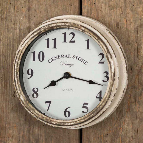 General Store Wall Clock - *FREE SHIPPING*