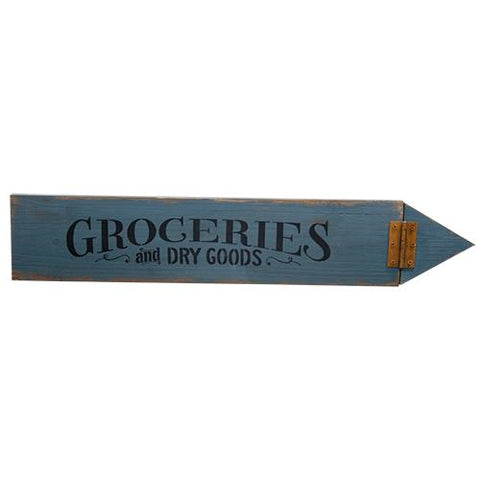 Groceries Arrow Sign - *FREE SHIPPING*