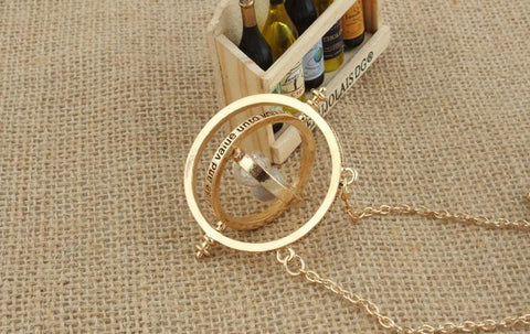 Necklace Gold Hourglass - *FREE SHIPPING*