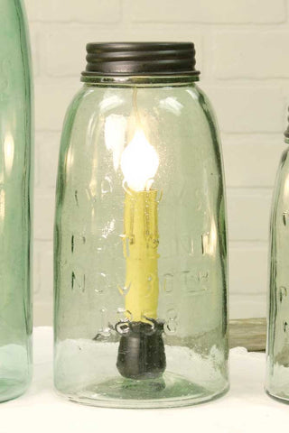 Half Gallon Mason Jar Lamp - *FREE SHIPPING*