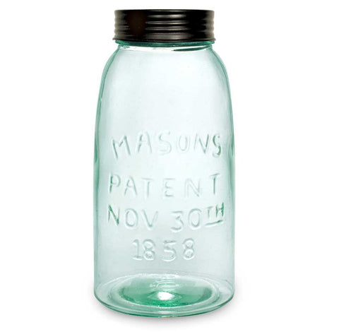 Half Gallon Mason Jar with Lid - *FREE SHIPPING*