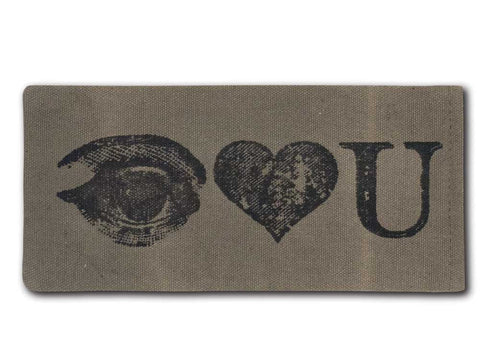 I Luv You Eye Glasses Case - *FREE SHIPPING*