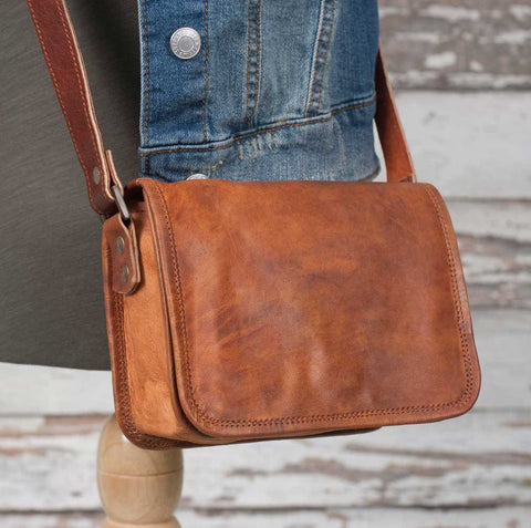 Genuine Leather  Indiana Petite Bag - *FREE SHIPPING
