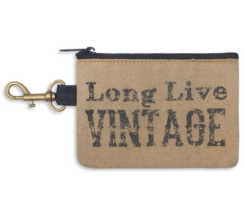 Long Live Vintage Coin Purse - *FREE SHIPPING*