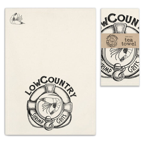 Low Country Tea Towel - SET OF 4 - *FREE SHIPPING*