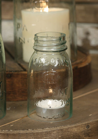 Mason Jar Chimney – ¼ Pint Size - *FREE SHIPPING*