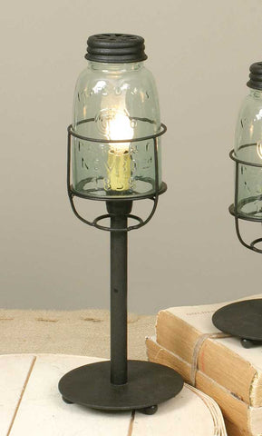 Medium Mason Jar Desk Lamp - *FREE SHIPPING*
