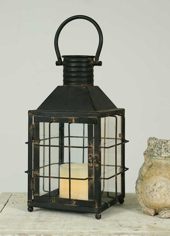 Medium Railroad Lantern Candle Holder - *FREE SHIPPING*