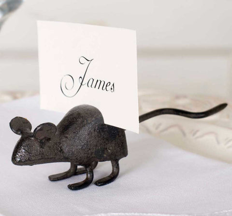 Mouse Card Holder - Set Of 4 - *FREE SHIPPING*