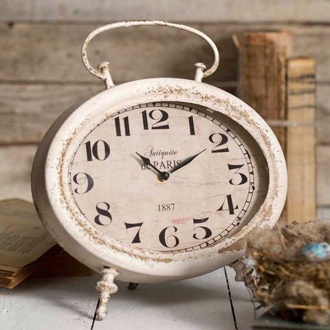 Oval Tabletop Clock - *FREE SHIPPING*