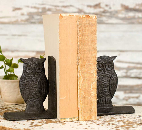 Owl Bookends - - *FREE SHIPPING*