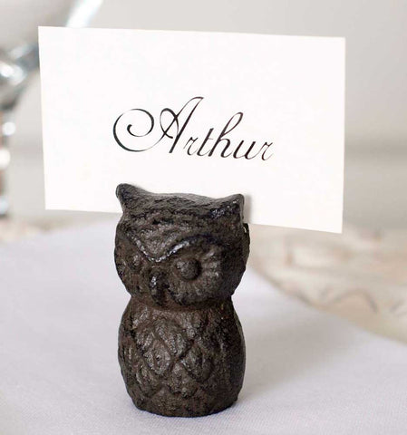 Owl Card Holder - Set Of 4 - *FREE SHIPPING*
