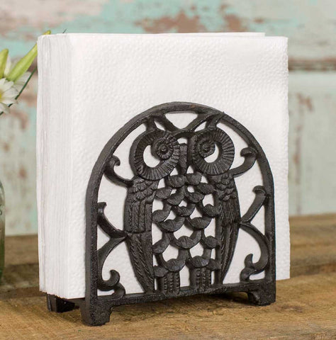 Owl Napkin Holder - Set Of 2 - *FREE SHIPPING*