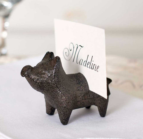 Pig Card Holder - SET Of 4 - *FREE SHIPPING*