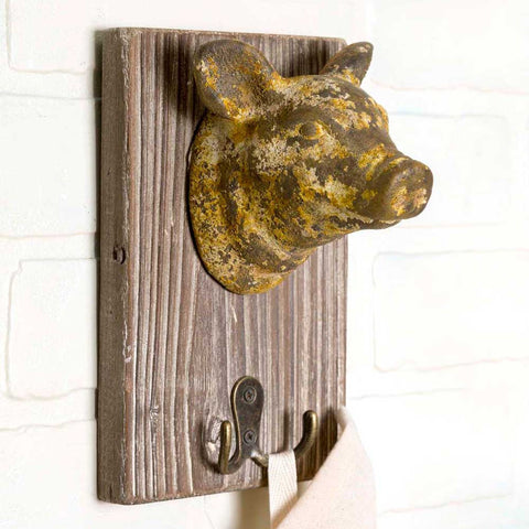 Pig Wall Hook - *FREE SHIPPING*