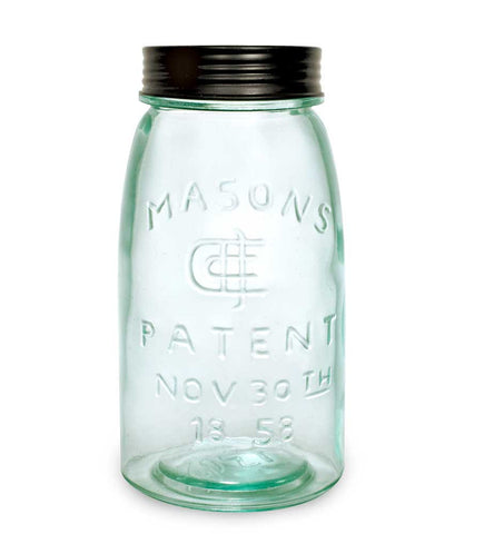 Quart Mason Jar with Lid - *FREE SHIPPING*