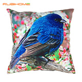 RUBIHOME Decorative Throw Pillows Cushions Without Inner Printing Birds Design Home Decor Sofa High Quality Funda Cojines