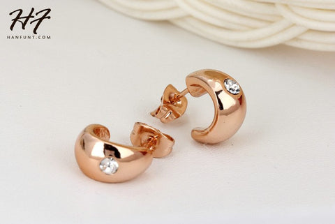 Champagne Gold Plated Earring - *FREE SHIPPING*