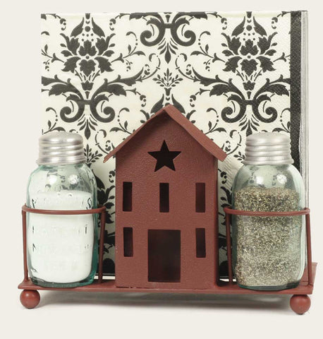 Saltbox House Caddy - Red - Set of 2 - *FREE SHIPPING*