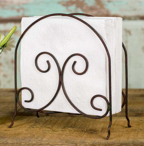 Scroll Napkin  - Set Of 2 - *FREE SHIPPING*
