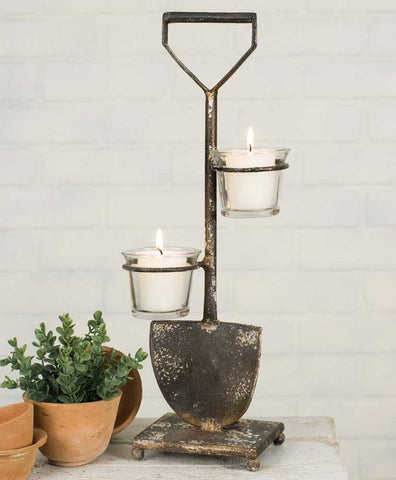 Shovel Votive Stand - *FREE SHIPPING*