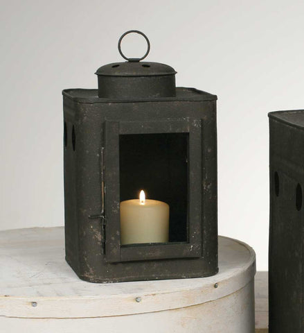 Small Square Can Lantern Candle Holder - *FREE SHIPPING*